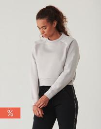 Ladies` Cropped Sweatshirt